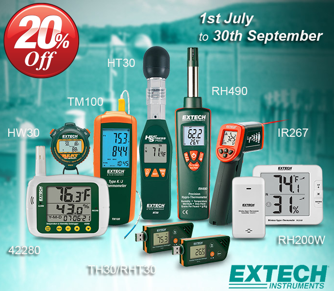 Extech Instrument Sale 20%