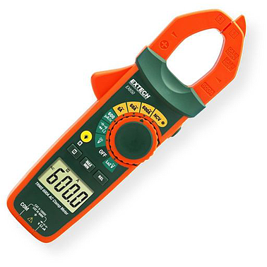 Extech EX650 True RMS AC Clamp Meter + NCV (Non-Contact Voltage Detector and Low Impedance)