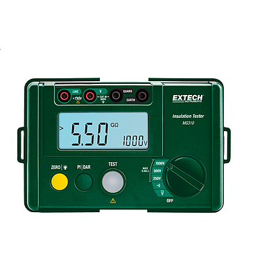 Extech MG310 Compact Digital Insulation Tester (1000V, 5.5GΩ )