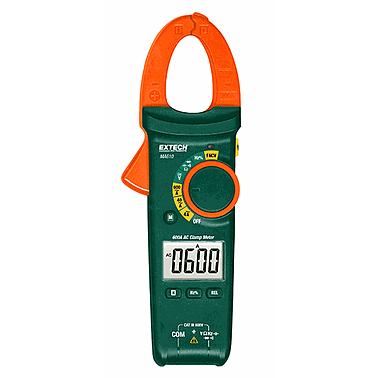 Extech MA610 AC Clamp Meter (600A, NCV)