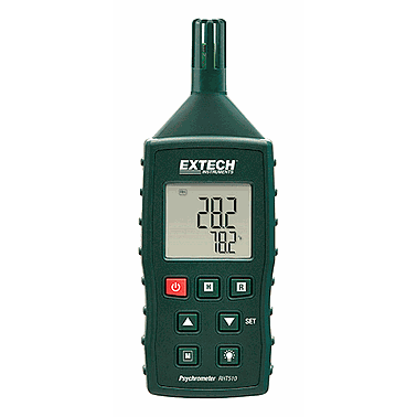 EXTECH RHT510 Hygro-Thermometer Psychrometer