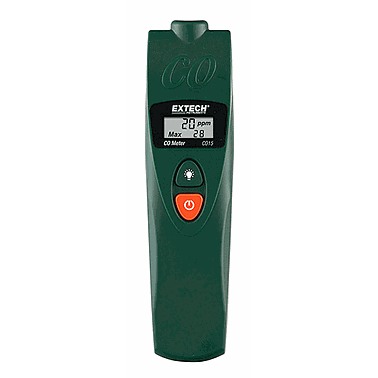 Extech CO15: Carbon Monoxide Meter (CO: 0~999ppm)