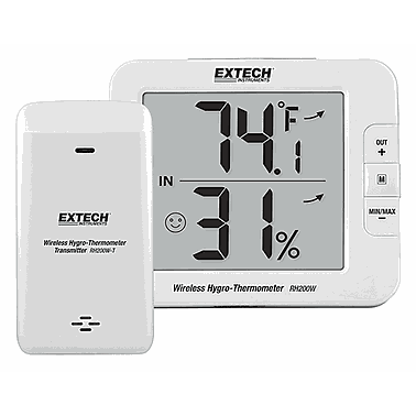 Extech RH200W Multi-Channel Wireless Hygro-Thermometerr