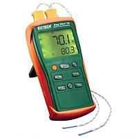 Easyview Type K Dual Input Thermometer with Dual Readings Extech EA10