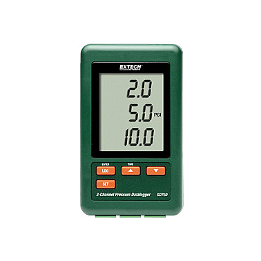 Extech SD750 Pressure Datalogger ( 3 chanel, SD card)