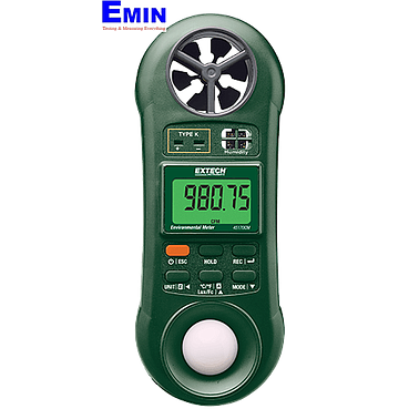 EXTECH 45170CM 5-in-1 Environmental Meter (Air Velocity, Air Flow, Humidity, Temperature and Light)